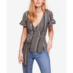 Free People Wrapped Around My Finger Top Blouse